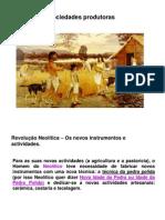As primeiras sociedades produtoras.ppt