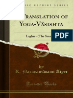 A Translation of Yoga-Vasishta-Laghu - The Smaller 1000000114
