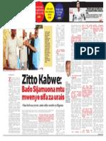 RAI -Zitto Kabwe
