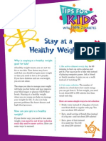 Youth Tips Weight