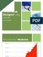 Menjadi Web Designer yang Handal