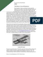 History of Aircraft