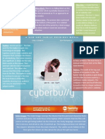 Poster analysis - Cyberbully