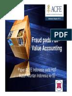 Fraud Pada Fair-Value Accounting