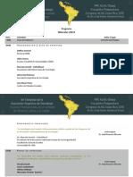 5a Congreso de Asociacion Argentina de Sociologia Programa 2014.pdf