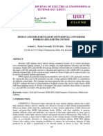 Design and Implementation of Push-pull Converter Forrgb Led Lighting System-2