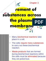 1 Movement of Substances Across the Plasma Membran