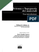 Scienza e Ingegneria Dei Materiali- Callister
