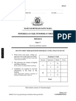 Trial MRSM SPM 2014 Physics K3 No Skema