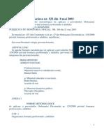 HG_522_2003 Normele Metodologice OG 129 Privind Formarea Profesionala a Adultilor