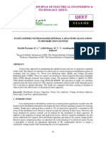 Fuzzy-expert System Based Optimal Capacitor Allocation in Distribution System-2