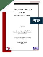 2012 Infant Mortality Report