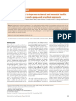 Human Rights to Improve Maternal Neonatal Health WHO