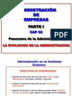 ADMINISTRACION PARTE UNO CAP 02 2014-1.ppt