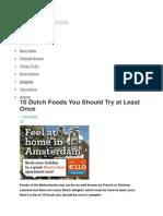 amsterdam food.docx