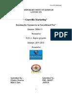 35 Gajraj Singh - Guerrilla Marketing