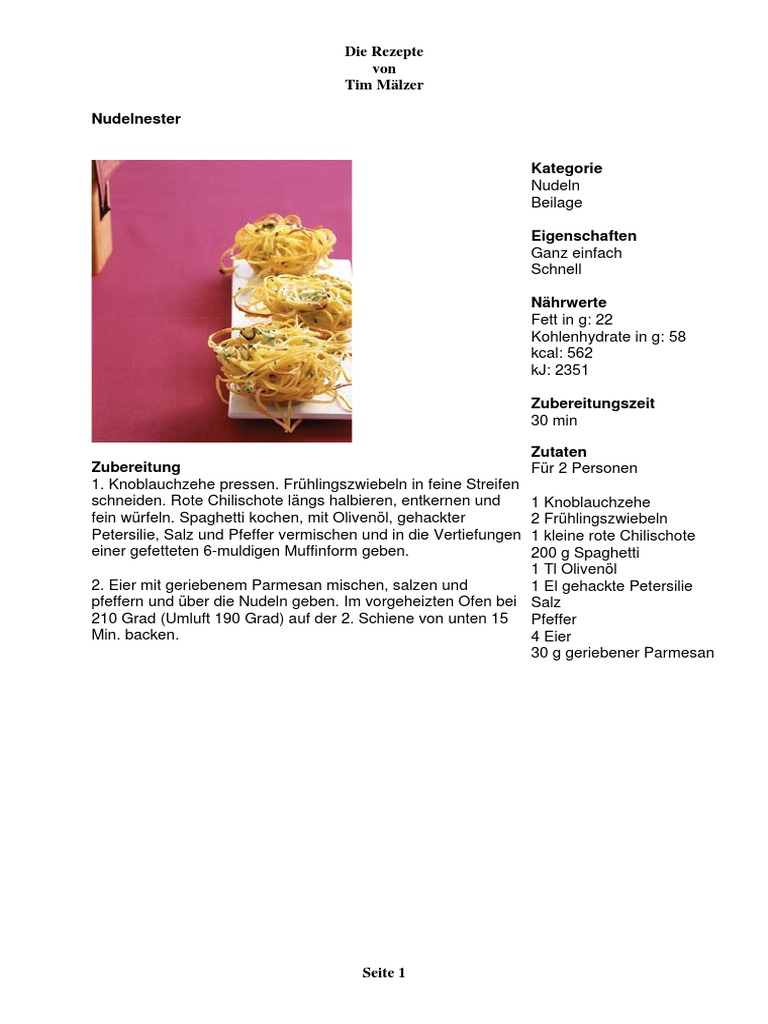 103 Rezepte Von Tim Malzer Pdf