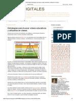 SOMOS DIGITALES_ Estrategias para buscar videos educativos y utilizarlos en clases.pdf
