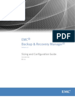 Backup and Recovery Manager Release 1.2 Sizing and Configuration Guide