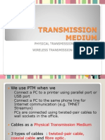 TRANSMISSION MEDIUM.ppt