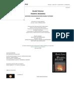 Rudolf Steiner - Poarta Initierii. Un Misteriu Rosicrucian GA (1)