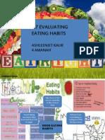 evaluating eating habits