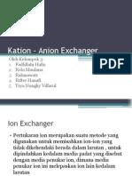 Kation – Anion Exchanger.pptx