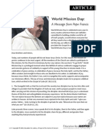 World Mission Day 2014