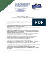 Università per Stranieri di Siena. Bozza per un Programma di preparazione per l'esame Ditals 1, profilo IMMIGRATI