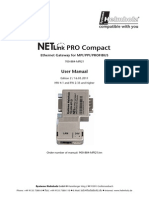 NetlinkPROproCompact Manual