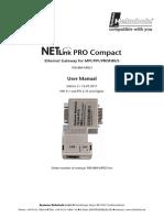NetlinkPROproCompact Manual