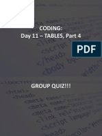 for web 2015 - s1 - op - week 8 coding day 11 tables - part 4