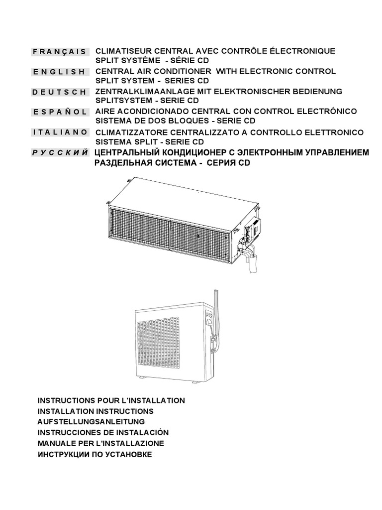 Berühmt Zentralklimaanlage Diagramm Galerie - Schaltplan Serie ...