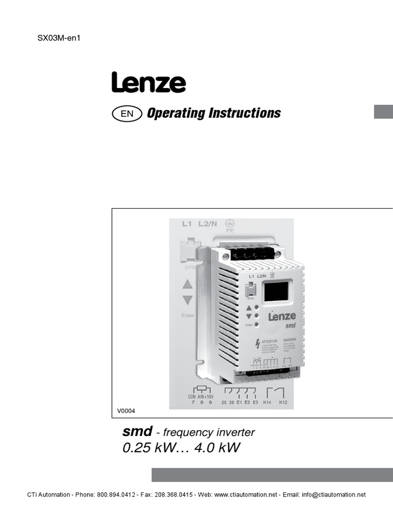 Lenze Smd Basic Io Manual Fuse Electrical Electromagnetic Wiring Diagrams Compatibility