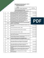 Rencana Umum Pengadaan JASA LAINNYA 2013