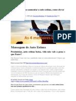 Ansiedade Como aumentar a auto estima.pdf