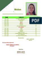 grade 3-melon