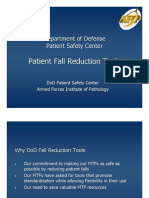 Dod Fall Reduction Tools
