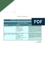 ACCOES PARA MELHORIA - Distinguir Enunciados Gerais de Especificos