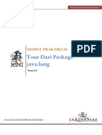 2.3 Tour Package Java.lang