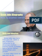 Steve Jobs Presentation (text version)