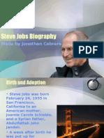 Steve Jobs Presentation (text version)