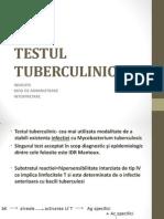 TESTUL TUBERCULINIC.ppt