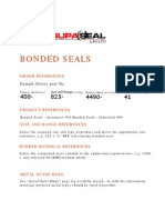Dowty Bonded Seals