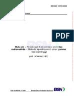 12067_SNI ISO 10703_2009_Mutu Air _penentuan Konsentrasi Aktivitas Radionuklida Metode Spektometri Sinar Gamma