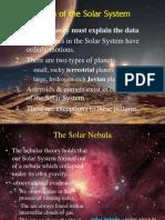 solarsystem formation