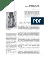 FERNANDEZ POLANCO. Resonancias, Arte y vida. Una lectura de Jacque Rancière.pdf