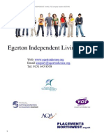 egerton house semi-independent-living brochure