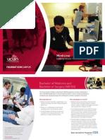 Medicine UCLan FoundationCampus Medicine UFP Brochure