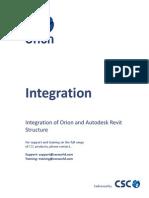 Revit - Orion Integration